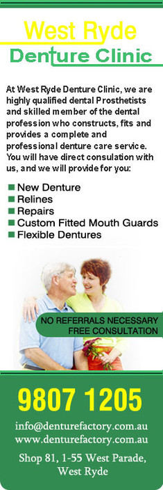 West Ryde Denture Clinic - Gold Coast Dentists